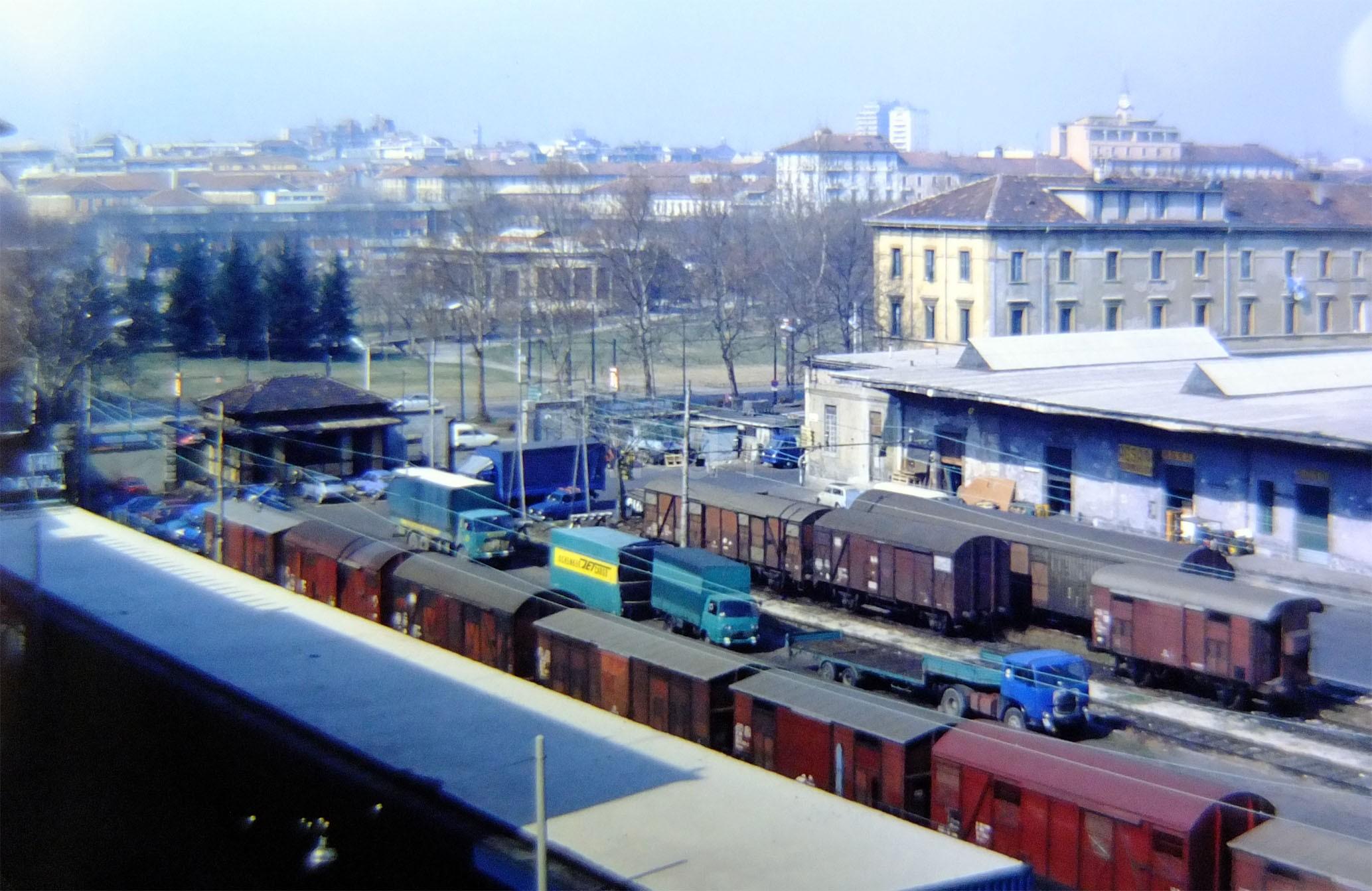 Vecchio Scalo Merci Di Milano Porta Vittoria Il Portale