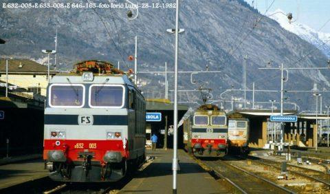 E.632.008+E.633.008+E.646.163 – Domodossola – 28 Dicembre 1982