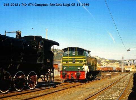 245.2013 e 740.074 – Genova Campasso – 5 Novembre 1986