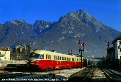 Aln 448-460 Ponte nelle Alpi 20 Novembre 1983