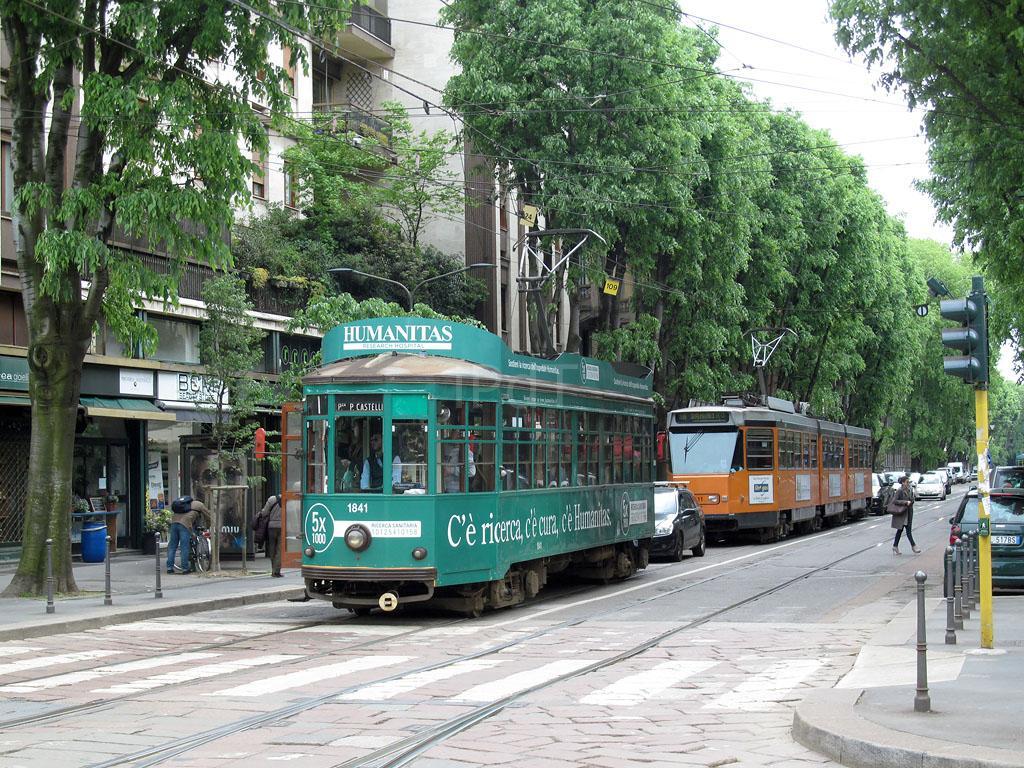 Atm 1841 Milano Largo V Alpini 29 Aprile 2015 Il Portale Dei Treni