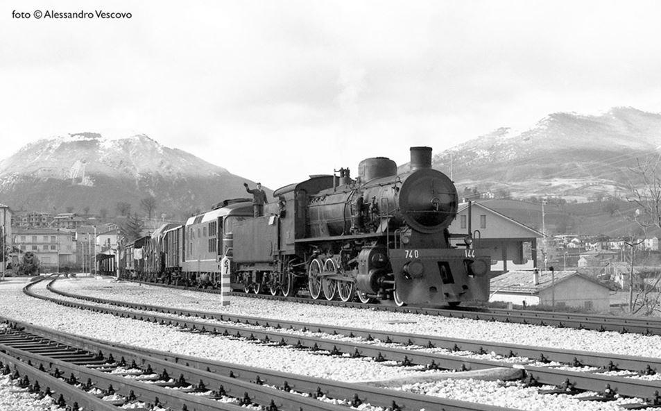 Gli ultimi anni della trazione a vapore a Fabriano: 1974