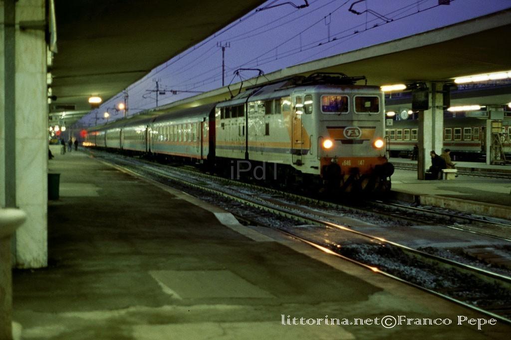 E 646.047 – Pisa Centrale – 12 dicembre 1995 – il Portale ...