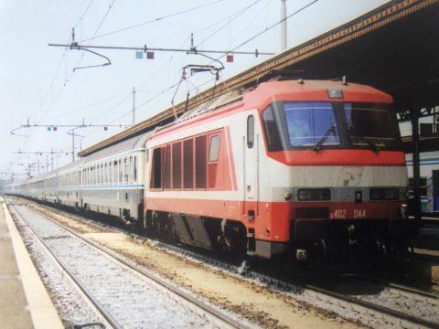 E.402 044 – Verona Porta Nuova – 20 Giugno 1998